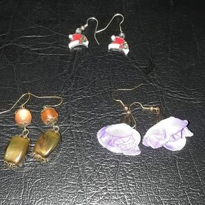 Earring Set(3 Pairs)